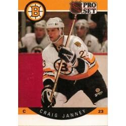 1990-91 Pro Set c. 008 Craig Janney BOS