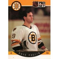 1990-91 Pro Set c. 013 Dave Poulin BOS