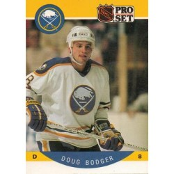 1990-91 Pro Set c. 019 Doug Bodger BUF