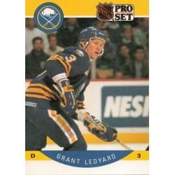 1990-91 Pro Set c. 024 Grant Ledyard BUF
