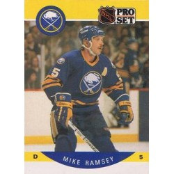 1990-91 Pro Set c. 028 Mike Ramsey BUF