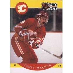 1990-91 Pro Set c. 037 Jamie Macoun CGY