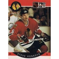 1990-91 Pro Set c. 052 Steve Konroyd CHI