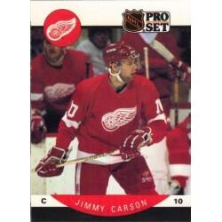 1990-91 Pro Set c. 067 Jimmy Carson DET