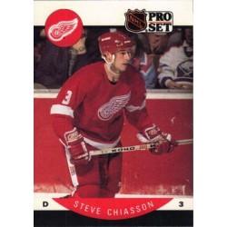 1990-91 Pro Set c. 069 Steve Chiasson DET