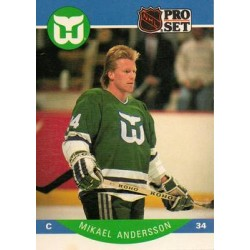 1990-91 Pro Set c. 098 Mikael Andersson HFD