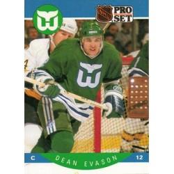 1990-91 Pro Set c. 103 Dean Evason HFD