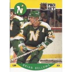 1990-91 Pro Set c. 130 Brian Bellows MNS