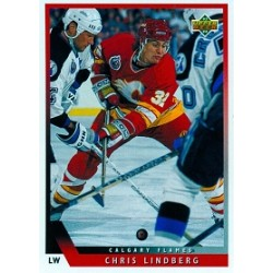 1993-94 Upper Deck c. 196 Lindberg Chris CGY