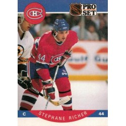 1990-91 Pro Set c. 156 Stephane Richer MON