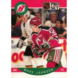1990-91 Pro Set c. 168 Mark Johnson NJD
