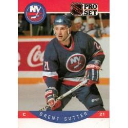 1990-91 Pro Set c. 191 Brent Sutter