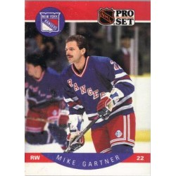 1990-91 Pro Set c. 196 Mike Gartner