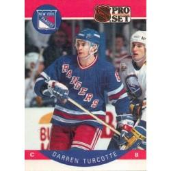 1990-91 Pro Set c. 208 Darren Turcotte