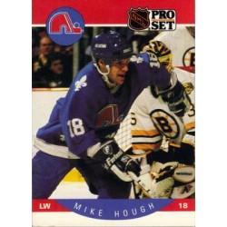 1990-91 Pro Set c. 247 Mike Hough QUE