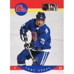 1990-91 Pro Set c. 248 Tony Hrkac QUE