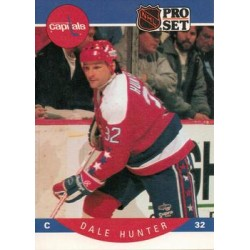 1990-91 Pro Set c. 312 Dale Hunter WSH