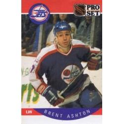 1990-91 Pro Set c. 323 Brent Ashton WIN