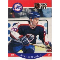 1990-91 Pro Set c. 333 Dave McLlwain WIN