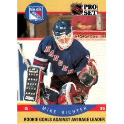 1990-91 Pro Set c. 398 Mike Richter RLL