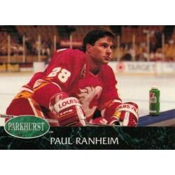 1992-93 Parkhurst c. 260 Paul Ranheim CGY