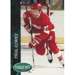 1992-93 Parkhurst c. 276 Paul Coffey DET