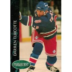 1992-93 Parkhurst c. 345 Darren Turcotte