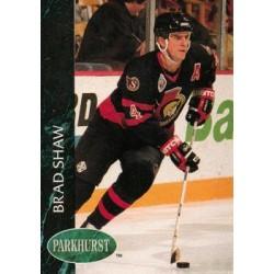 1992-93 Parkhurst c. 352 Brad Shaw OTT