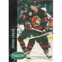 1992-93 Parkhurst c. 354 Mark Freer OTT