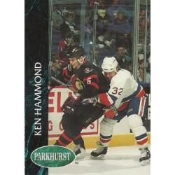 1992-93 Parkhurst c. 358 Ken Hammond OTT