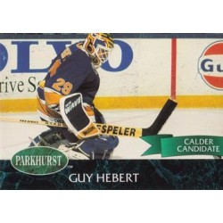 1992-93 Parkhurst c. 386 Guy Hebert STL