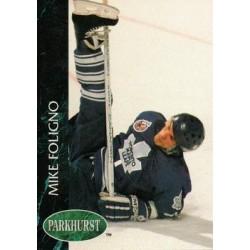 1992-93 Parkhurst c. 415 Mike Foligno TOR