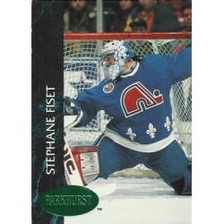 1992-93 Parkhurst Emerald Ice c. 378 Stephane Fiset QUE