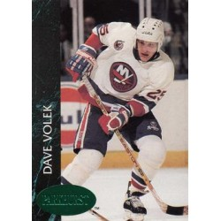 1992-93 Parkhurst Emerald Ice c. 340 David Volek