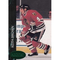 1992-93 Parkhurst Emerald Ice c. 274 Keith Brown CHI