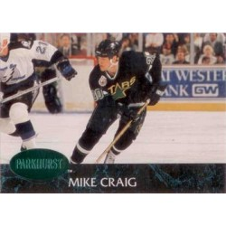 1992-93 Parkhurst Emerald Ice c. 314 Mike Craig DAL