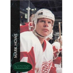 1992-93 Parkhurst Emerald Ice c. 279 Mark Howe DET