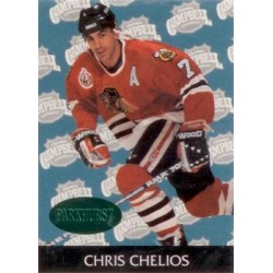 1992-93 Parkhurst Emerald Ice c. 457 Chris Chelios CHI