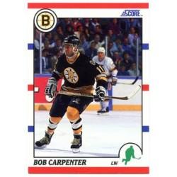 1990-91 Score American c. 016 Bob Carpenter BOS