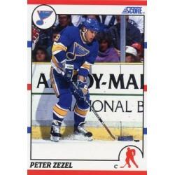 1990-91 Score American c. 024 Peter Zezel STL