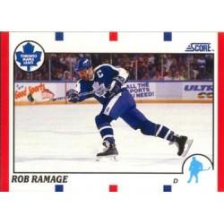 1990-91 Score American c. 036 Rob Ramage TOR