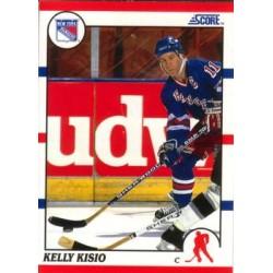 1990-91 Score American c. 037 Kelly Kisio
