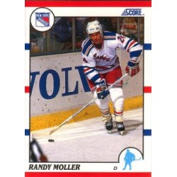 1990-91 Score American c. 045 Randy Moller
