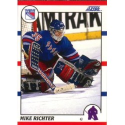 1990-91 Score American c. 74 Mike Richter