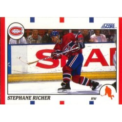 1990-91 Score American c. 075 Stephane Richer MON