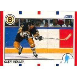 1990-91 Score American c. 97 Glen Wesley BOS