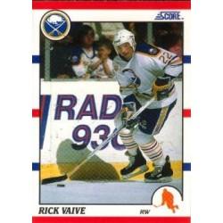 1990-91 Score American c. 103 Rick Vaive BUF