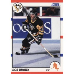 1990-91 Score American c. 105 Rob Brown PIT