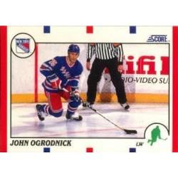 1990-91 Score American c. 113 John Ogrodnick