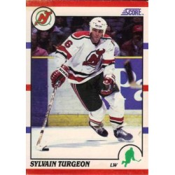 1990-91 Score American c. 116 Sylvain Turgeon NJD